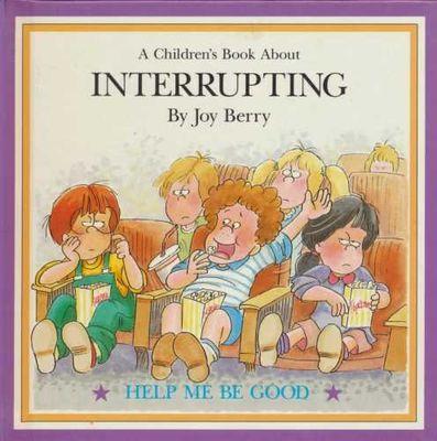 A children's book about interrupting