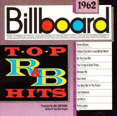 Billboard top R&B hits, 1962