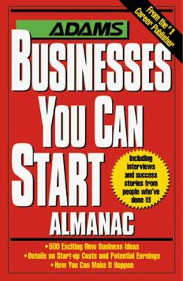The Adams businesses you can start almanac