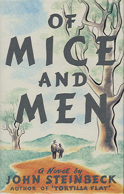 Of mice and men (LARGE PRINT)