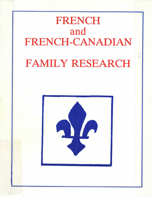 French and French-Canadian family research