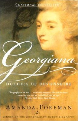 Georgiana, Duchess of Devonshire (LARGE PRINT)