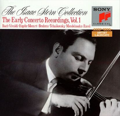 Isaac Stern collection. The early concerto recordings. Vol. 1