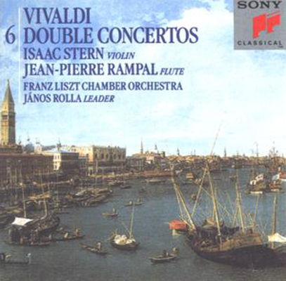 6 double concertos for flute, violin, strings & harpsichord