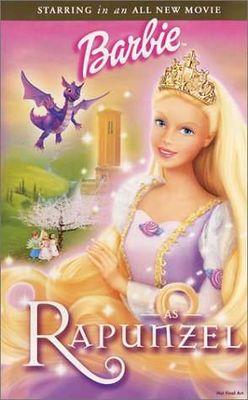 Rapunzel (starring Barbie)(DVD)