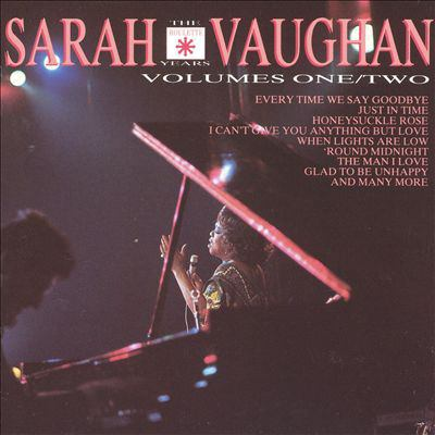 Sarah Vaughan : [the Roulette years. Volumes one/two].