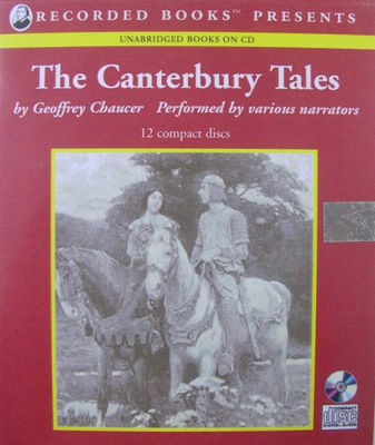Canterbury tales (Book on CD) (AUDIOBOOK)