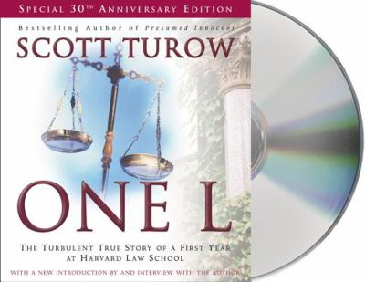 One L : the turbulent true story of a first year at Havard Law School (AUDIOBOOK)