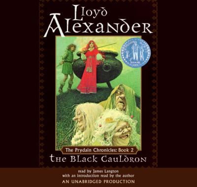 Black cauldron  (Prydain chronicles #2) (AUDIOBOOK)