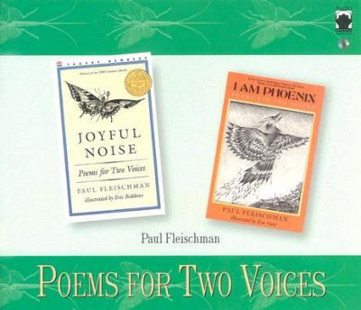 Joyful noise ; I am phoenix : poems for two voices (AUDIOBOOK)