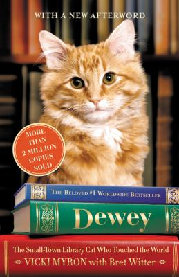 Dewey : the small-town library cat who touched the world (LARGE PRINT)