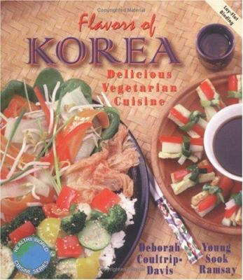 Flavors of Korea : delicious vegetarian cuisine