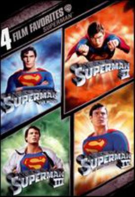 Superman : 4 film favorites.