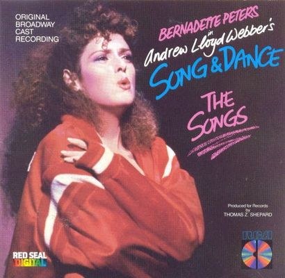 Bernadette Peters in Andrew Lloyd Webber's Song and dance. The songs