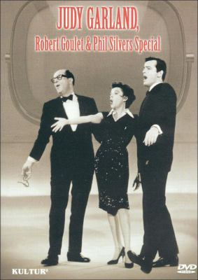 Judy and her guests Phil Silvers and Robert Goulet