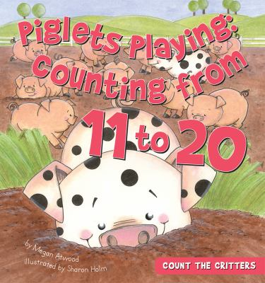 Piglets playing : counting from 11 to 20