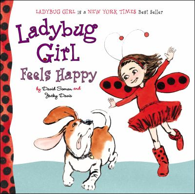 Ladybug Girl feels happy