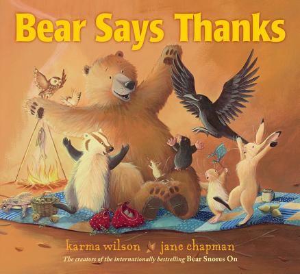 Bear says thanks (AUDIOBOOK)