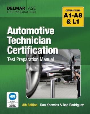 Automotive technician certification test preparation manual