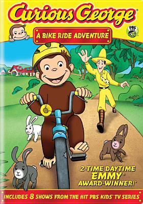 Curious George. A bike ride adventure