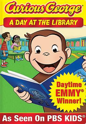 Curious George. A day at the library