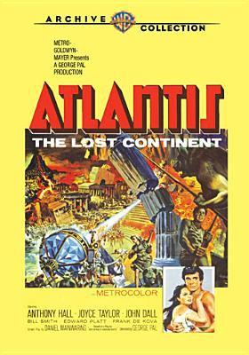 Atlantis : the lost continent