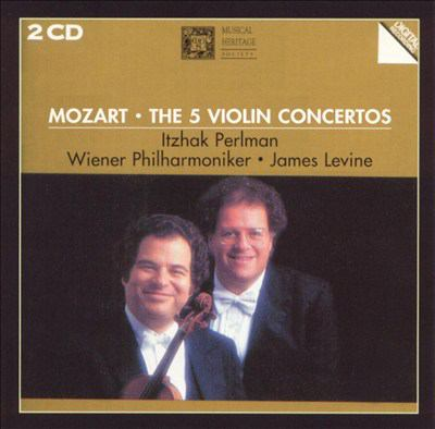 The five violin concertos