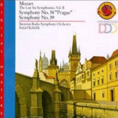 Symphony no. 38 in D major, K. 504 : Prague ; Symphony no. 39 in E-flat major, K. 543