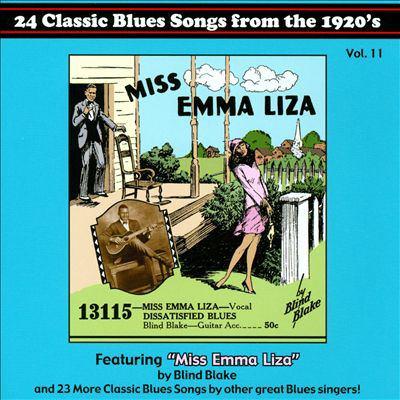 Blues Images presents-- : 1920's blues classics. vol. 11.