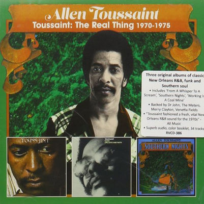 Toussaint : the real thing, 1970-1975.