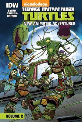 Teenage mutant ninja turtles : new animated adventures. Volume 2 / story: Kenny Byerly, art: Dario Brizuela ; colors: Heather Breckel ; letters: Shawn Lee ; edits: Bobby Curnow.