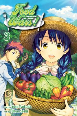 Food wars! Shokugeki no soma. Volume 3, The perfect recette
