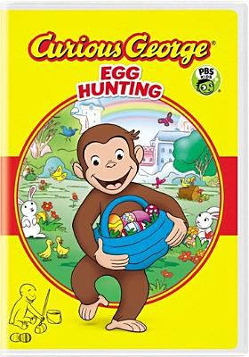 Curious George. Egg hunting