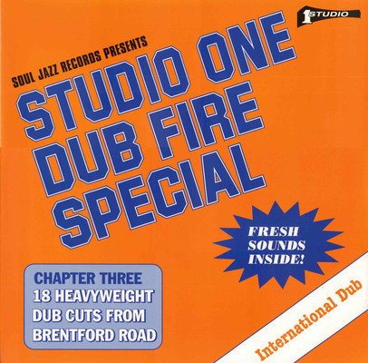 Studio One dub fire special. Chapter three, 18 heavyweight dub cuts from Brentford Road.