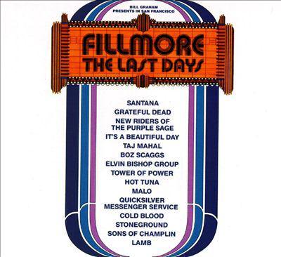 Fillmore, the last days.