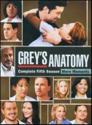 Grey's anatomy. Season five : more moments