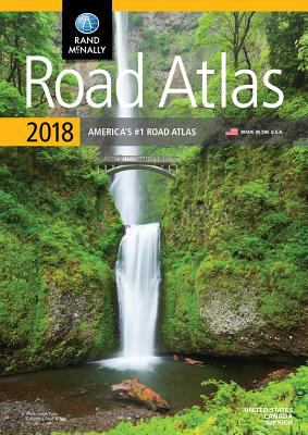 Road atlas 2018. United States, Canada and Mexico