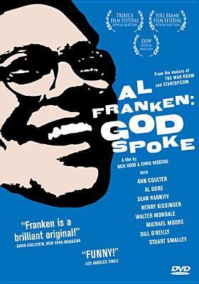 Al Franken. God spoke
