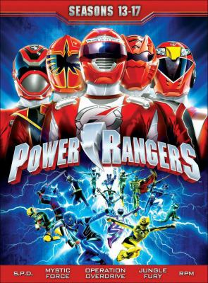 Power Rangers Operation Overdrive : the complete series