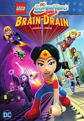 Lego DC super hero girls. Brain drain