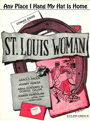 Any place I hang my hat is home : Edward Gross presents 'St. Louis Woman'
