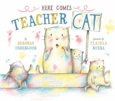 Here comes teacher Cat