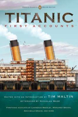 Titanic, first accounts
