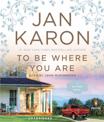 To be where you are (AUDIOBOOK)