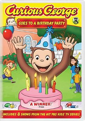 Curious George goes to a birthday party.