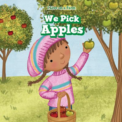 We pick apples
