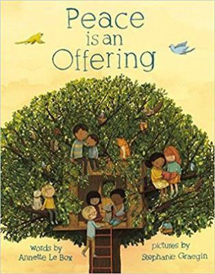 Peace is an offering = La paz es una ofrenda