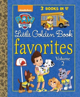 PAW Patrol Little Golden Book favorites. Volume 2.
