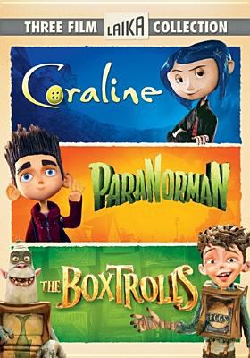 LAIKA three film collection : Coraline ; ParaNorman ; The Boxtrolls.