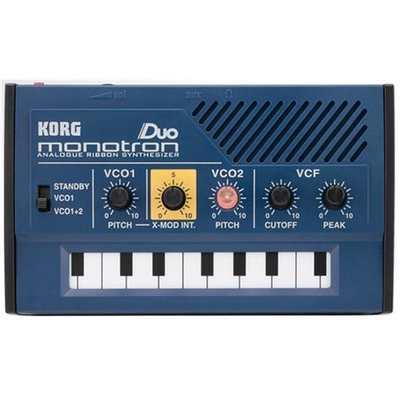 Monotron Duo Synthesizer kit : Korg Monotron Duo Analog Ribbon Synthesizer